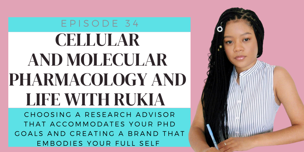 E34. Cancer Biology Research and Life With Rukia Henry